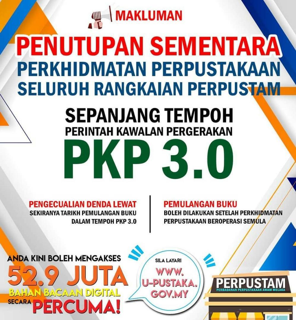 Waktu Perkhidmatan PKP 3.0